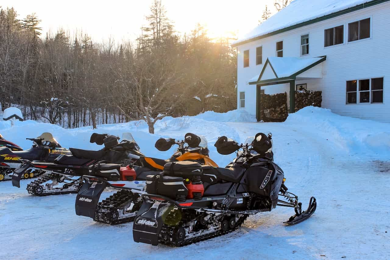 snow mobile day rental
